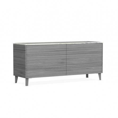 Boston 6 Drawer Double Dresser by Calligaris