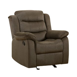 Poppy Manual Glider Recliner Red Barrel Studio
