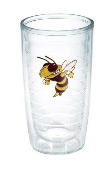 Collegiate Georgia Tech Buzz Plastic Every Day Glass by Tervis Tumbler
