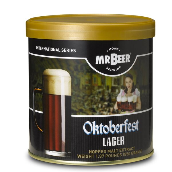 Mr. Beer Oktoberfest Lager Beer Making Refill Kit by Mr. Beer