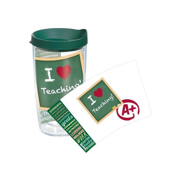 Celebrate Life Teacher Wrap Plastic Travel Tumbler by Tervis Tumbler