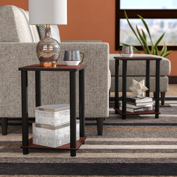 Colleen End Table with Storage (Set of 2) by Zipcode Design
