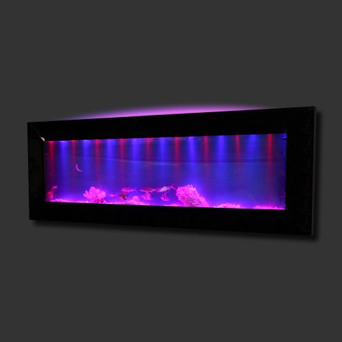 Aussie 10 Gallon Mirrored Glass Wall Mounted Aquarium Tank by Vandue Corporation