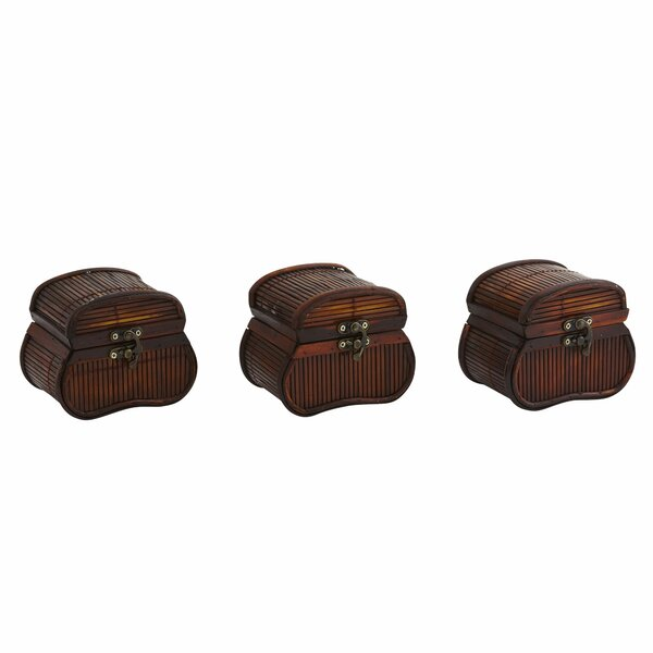 Pembroke Bamboo Chests (Set of 3) by Bay Isle Home