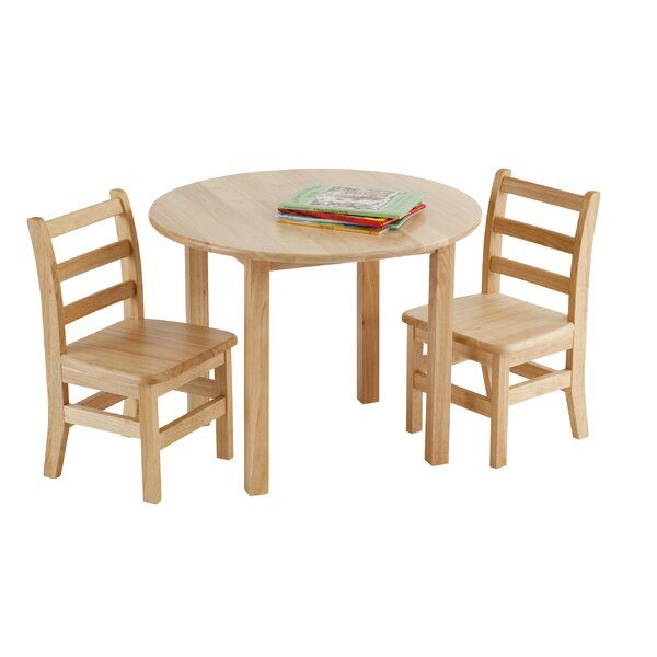 3 Piece Circular Activity Table & 12 Chair Set by ECR4kids