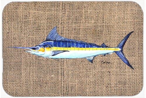 Fish Marlin Rectangle Non-Slip Bath Rug