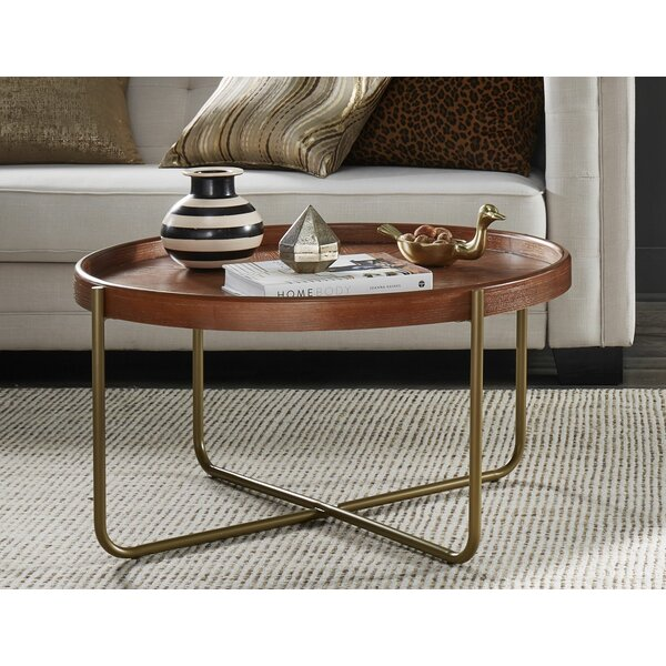 Moses Cross Legs Coffee Table By Kingstown Home