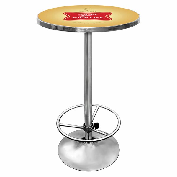 #1 Miller High Life Pub Table By Trademark Global 2019 Online
