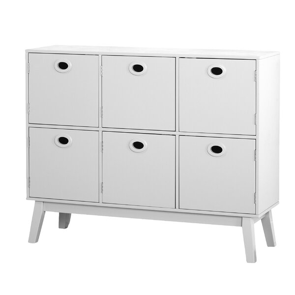 Verona 6 Door Accent Chest by Bungalow Rose