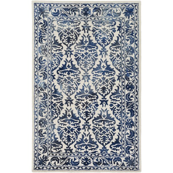 Henricks Hand-Tufted Blue Area Rug by Alcott Hill