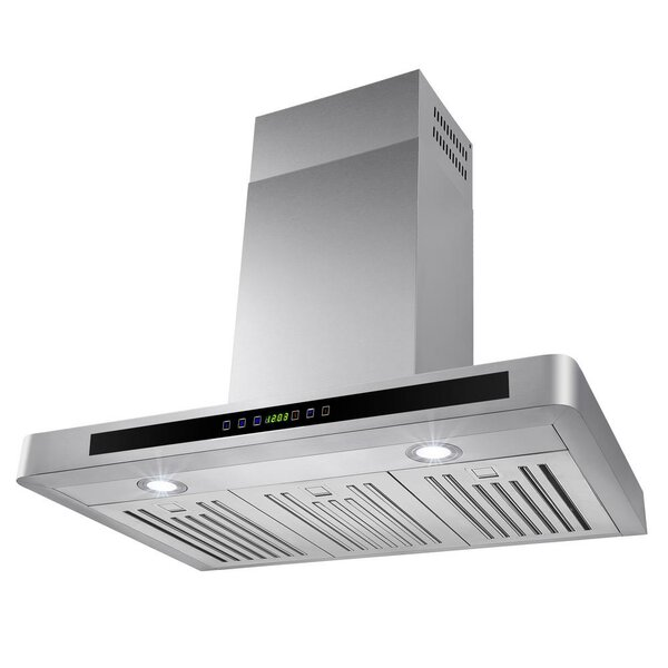30 312 CFM Convertible Wall Mount Range Hood by AK