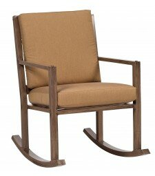 Woodlands Small Rocking Chair by Woodard