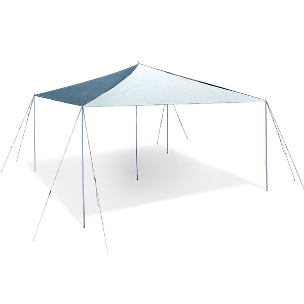 12 Ft. W x 12 Ft. D Steel Pop-Up Canopy by Stansport