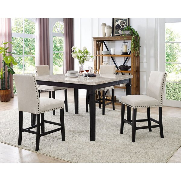 Irena 5 Piece Dining Set by Darby Home Co