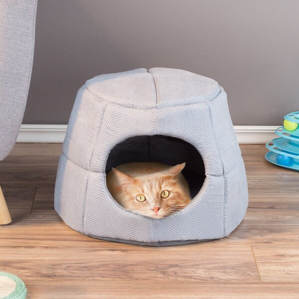 Innes Convertible Bolster & Hooded Pet Bed by Tucker Murphy Pet