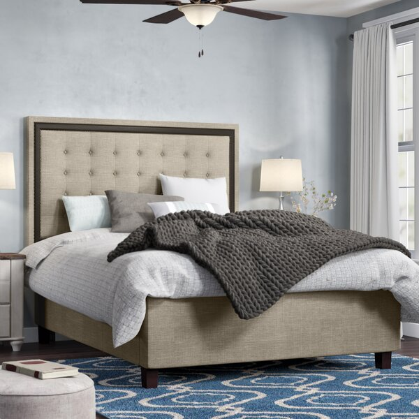 Rawley Upholstered Standard Bed by Charlton Home