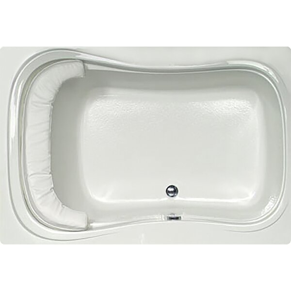 Designer Fantasy 60 x 42 Soaking Bathtub by Hydro Systems