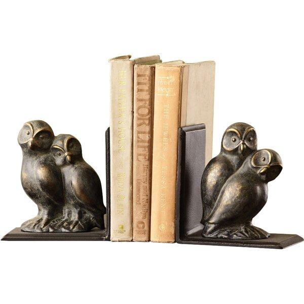 Loving Owls Book Ends (Set of 2) by SPI Home