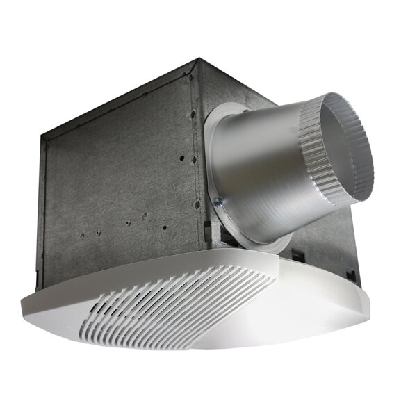NuVent Bathroom Fan with Light by Nuvent