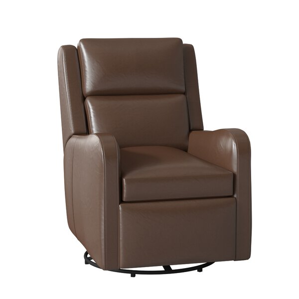 Willow Leather Power Wall Hugger Recliner By Bradington-Young