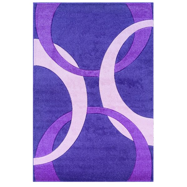 Purple Area Rug by Threadbind