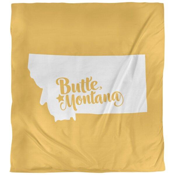 Butte Montana Duvet Cover