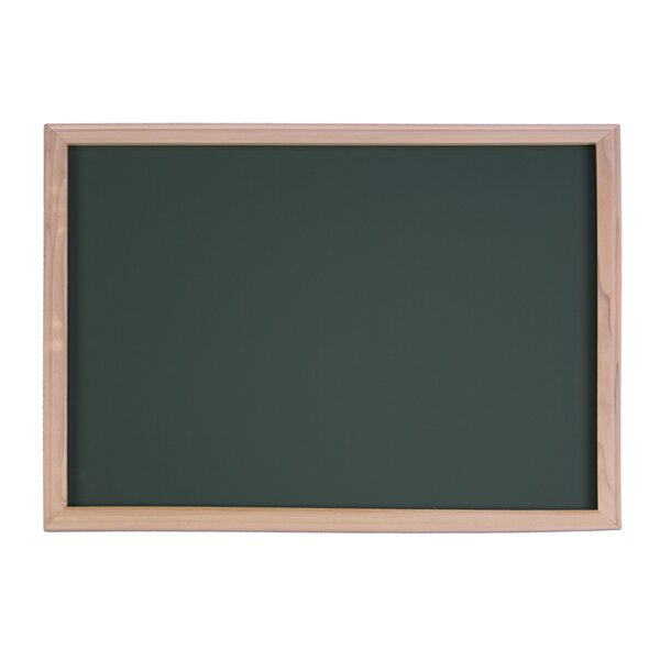 Wood Framed Wall Mounted Chalkboard 36 x 48 by Flipside Products