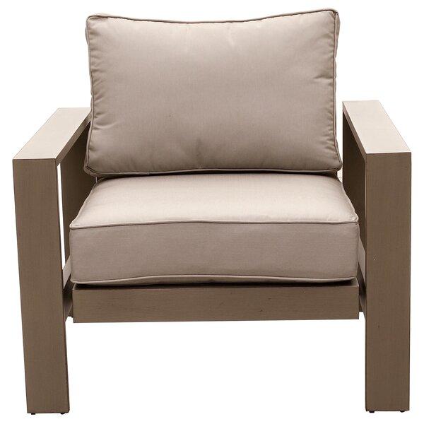 Otega Motion Patio Chair with Cushion by Orren Ellis