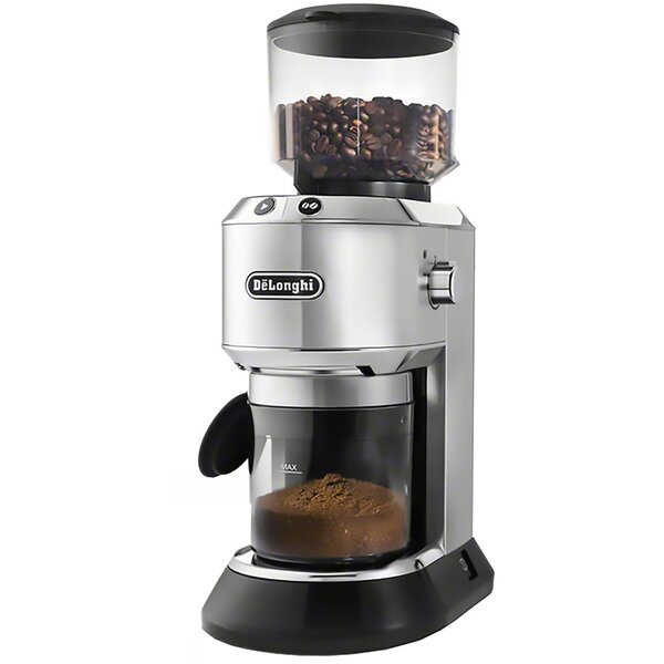 Dedica Conical Burr Coffee Grinder by DeLonghi