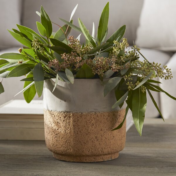 Ceramic Pot Planter by Syndicate Sales