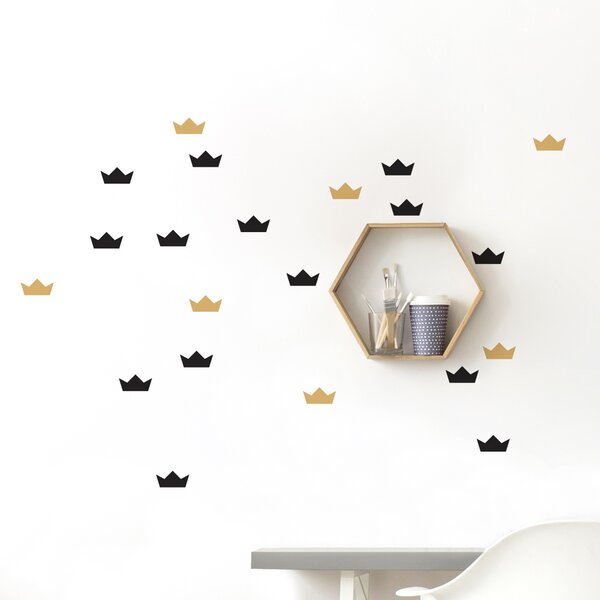 Gretchen Pointy Hats Wall Sticker/Decal by Harriet Bee