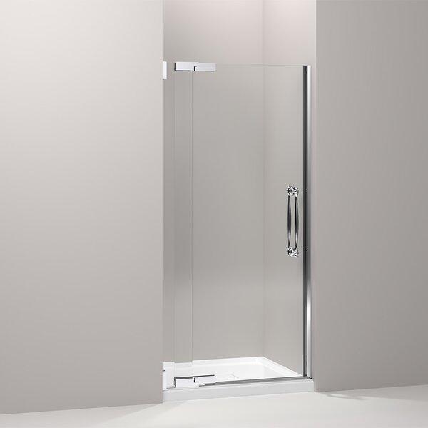Finial 35.75 x 72.25 Pivot Shower Door by Kohler