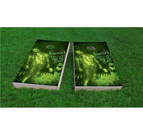 Zombie Apocalypse Light Weight Cornhole Game Set by Custom Cornhole Boards