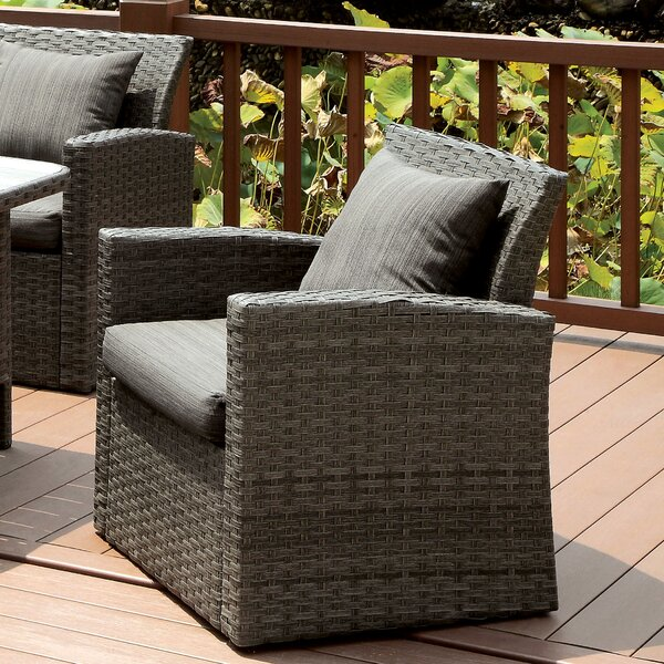 Camille Patio Chair with Cushions by Brayden Studio