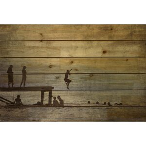 Summer Lake Arte De Legno Photographic Print by Empire Art Direct