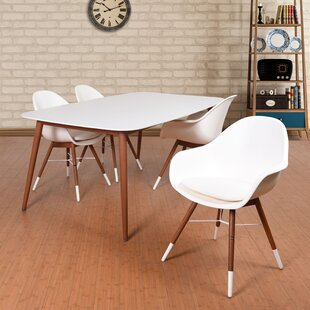 Colyer 5 Piece Dining Set with Cushion ByMercury Row