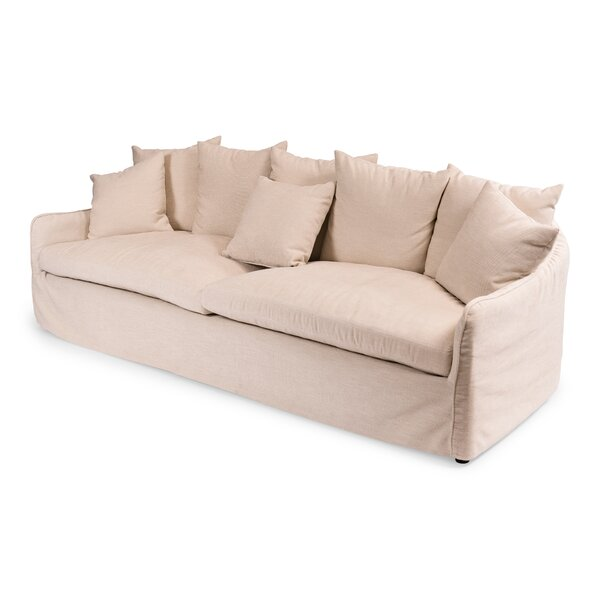 Frost Ecru Sofa by Sarreid Ltd