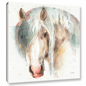 Farm Friends VI Painting Print on Wrapped Canvas by Laurel Foundry Modern Farmhouse