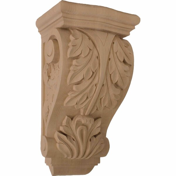 Farmingdale Acanthus 15H x 8W x 6 1/2D Large Corbel in Lindenwood by Ekena Millwork