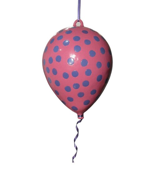 Girly Chic Polka Dot Permanent Balloon 3D Wall Décor by Metrotex Designs