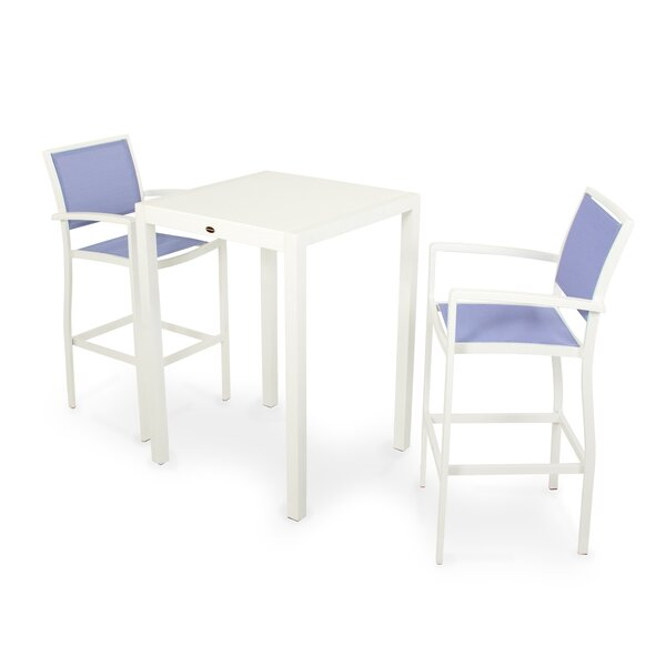 Bayline 3 Piece Bar Height Dining Set by POLYWOOD®