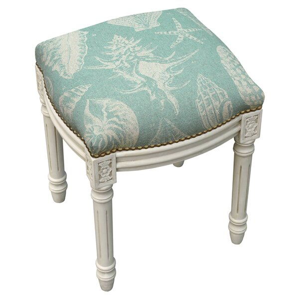Conch Accent Stool by 123 Creations