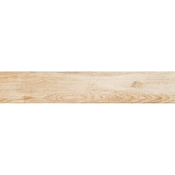 Pocono 6 x 36 Porcelain Wood Look/Field Tile in Oak by Emser Tile