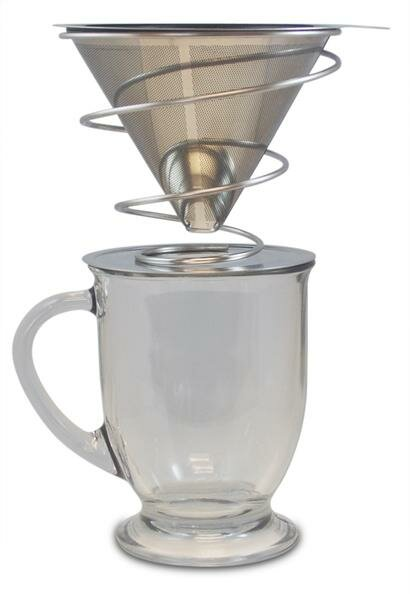 Barista Series Stainless Steel Pour over Drip Coffee Maker by Khaw-Fee