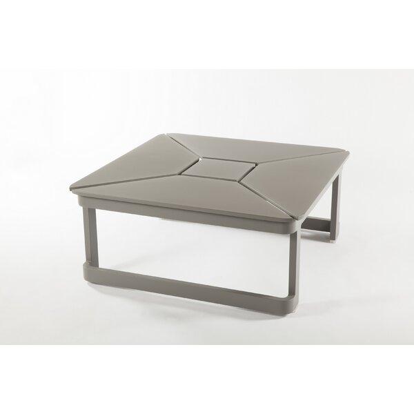 Palaio Extendable Aluminum Coffee Table by dCOR design