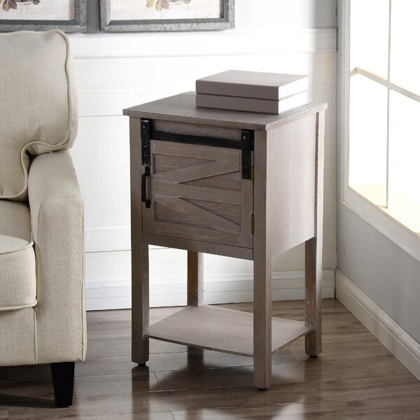 Lailah End Table with Storage by Gracie Oaks