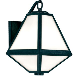 Check Prices Hankerson 1-Light Outdoor Wall Lantern By Brayden Studio