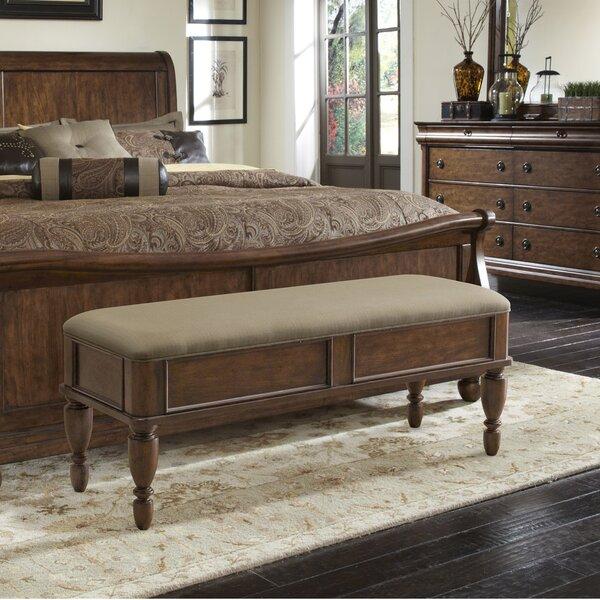 Oreana Upholstered Storage Bench by Three Posts