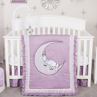 Unicorn Dreams 3 Piece Crib Bedding Set