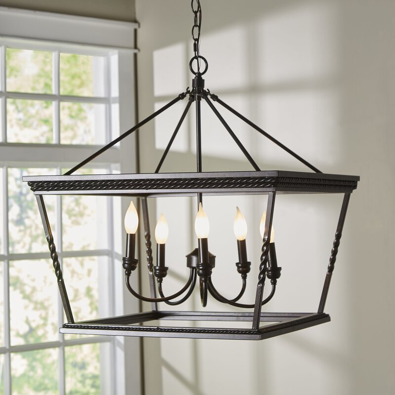 Darby home co northfield 5 light foyer pendant reviews wayfair northfield 5 light foyer pendant aloadofball Images